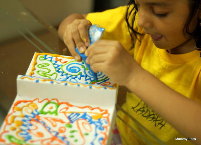 how to make puffy paint at home