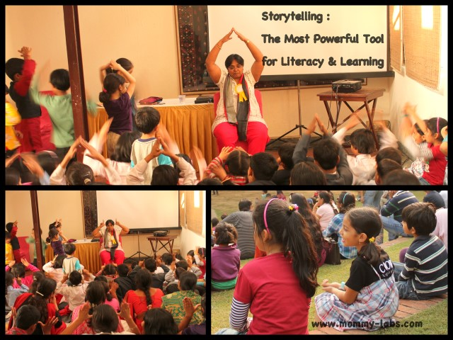 Storytelling the most powerful tool for literacy and learning