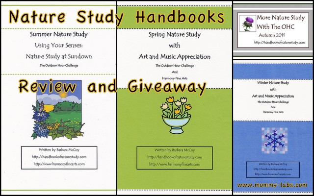 nature study handbook review and giveaway