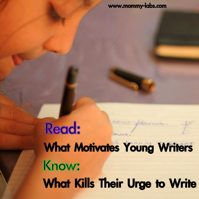 make writing joyful for children