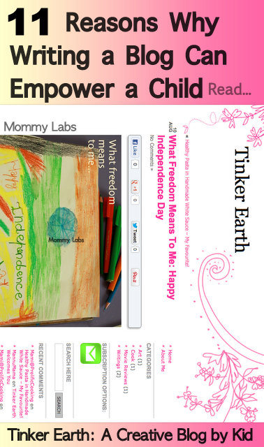 blogging for kids empowers expression, writing, independent thinking and learning