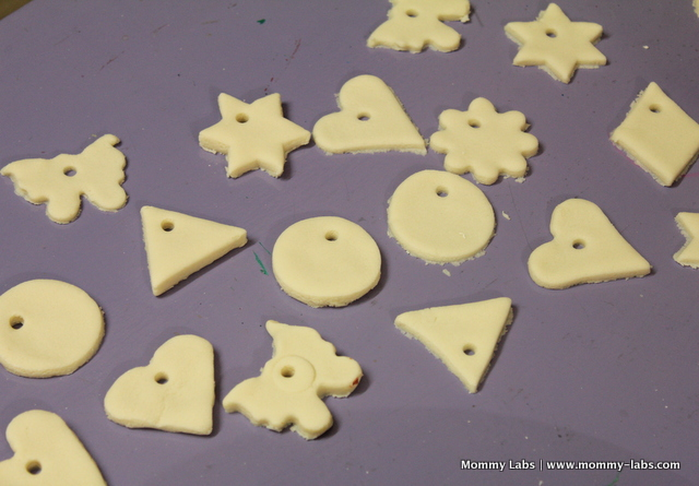 salt dough homemade ornaments