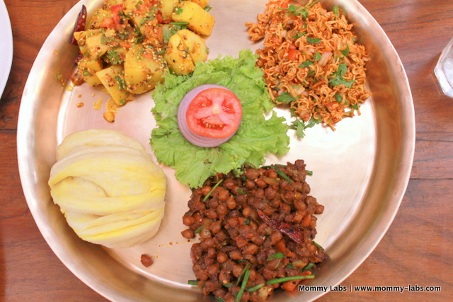 A Nepalese platter