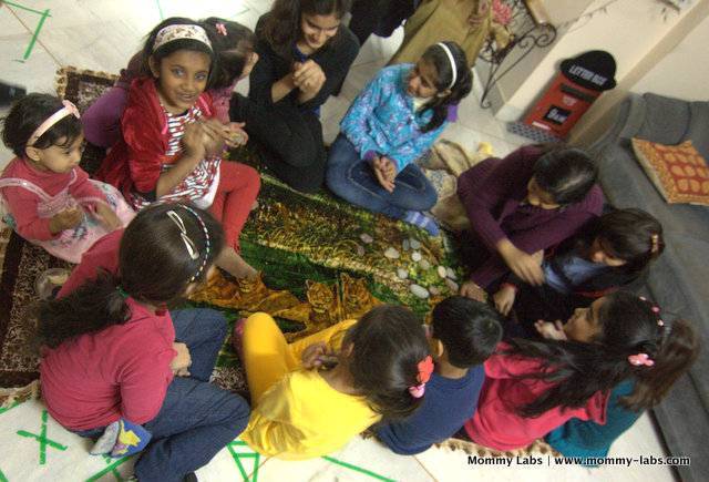 storytelling fun ideas with children Mommy Labs India