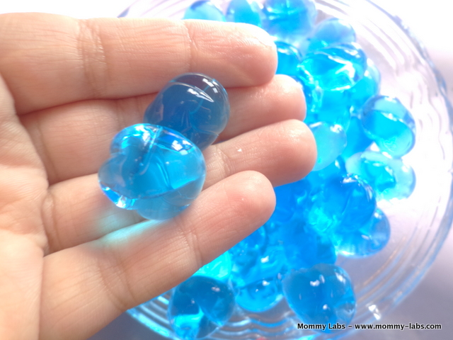 water beads sensory play for kids