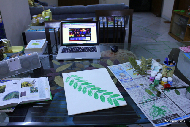 art table_Mommy Labs