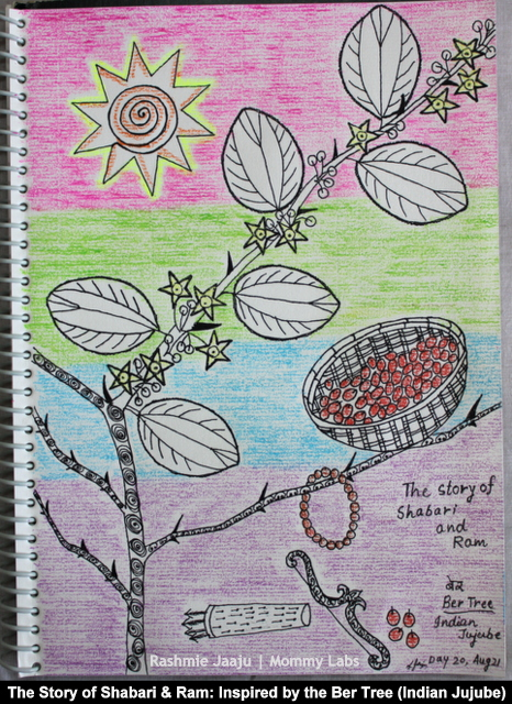 art and stories for children zentangle leaf art journaling