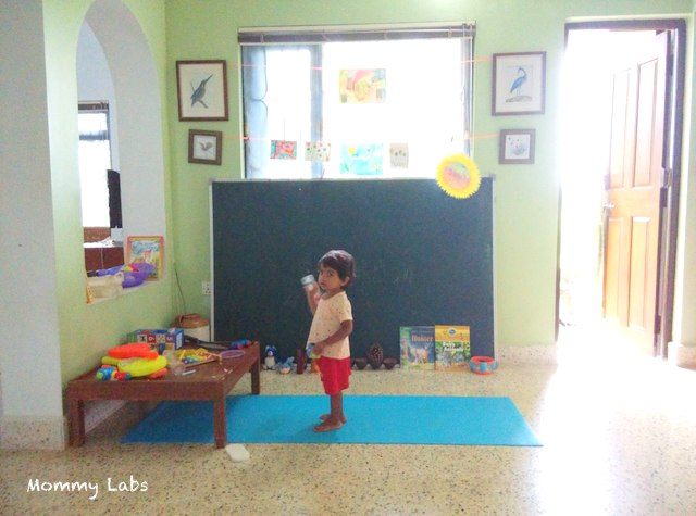 a playful corner for toddlers