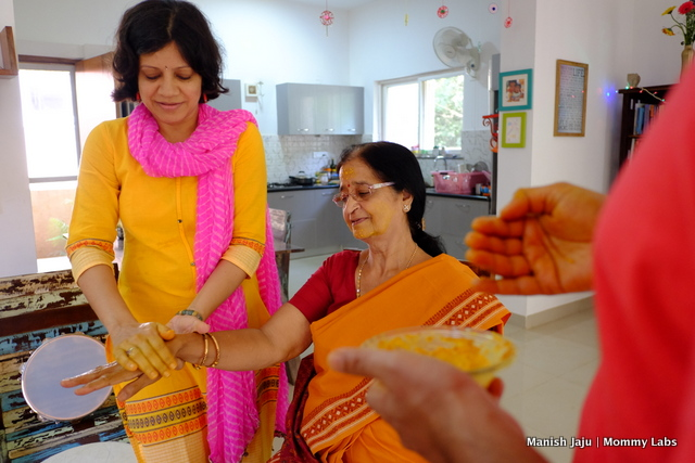 Diwali turmeric cleansing tradition a new one