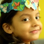 Child-led Art and Learning: Paper Flower Crown