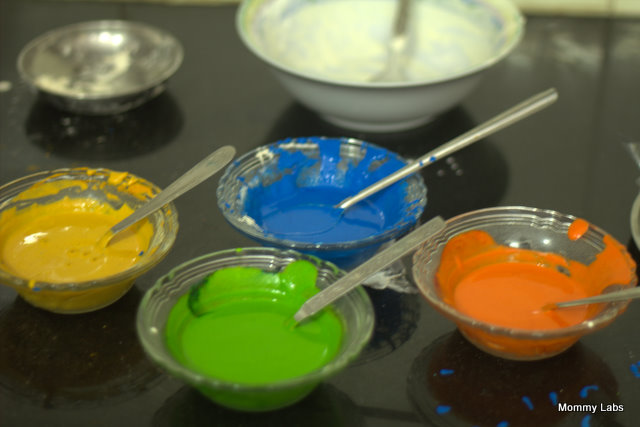 edible paint art kids