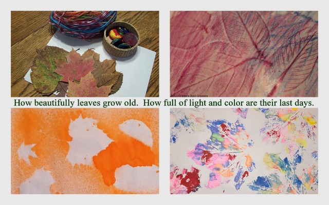 16 Ideas To Do Art With Leaves And Celebrate Thanksgiving