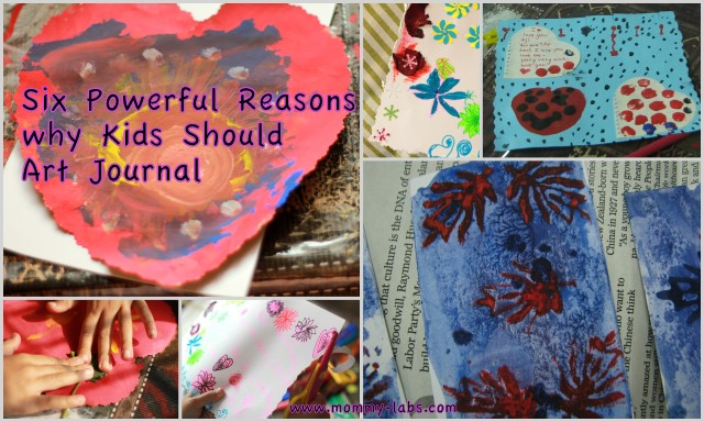 art journaling for kids