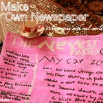 Kid-made Newspaper: Writing with Real-world Context