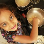 Cooking with Kids: Pasta in Homemade Healthy White Sauce
