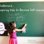 A Giant Chalkboard to Inspire Self-learning and Expression