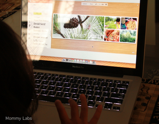 kids blogging can encourage and empower expression, writing, designing, art