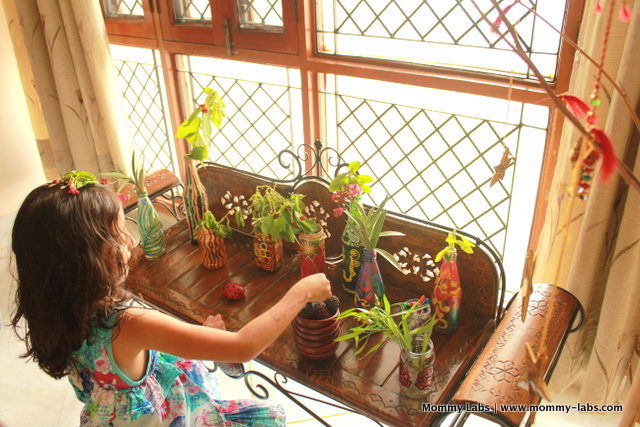 pretend play fairy garden