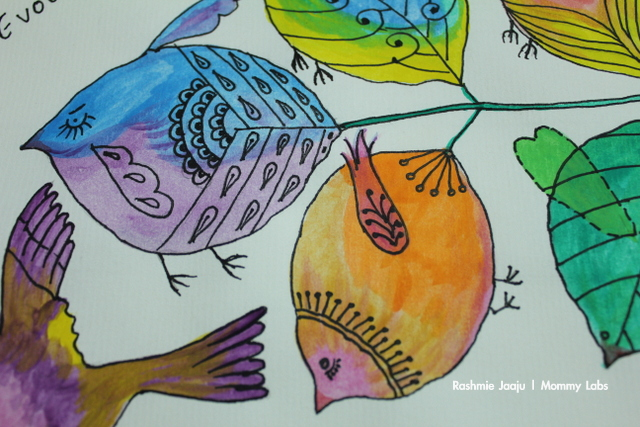 art and nature therapy for pregnancy