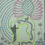 The Aura of a Yogini (Inspired by the Java Fig/Willow)