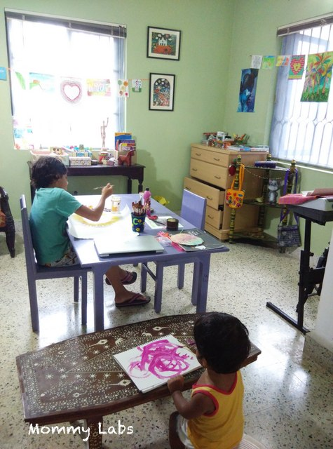 art space for children
