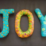 Paper Mache Letters and the Beauty of Unfolding Your Multiple Creative Selves